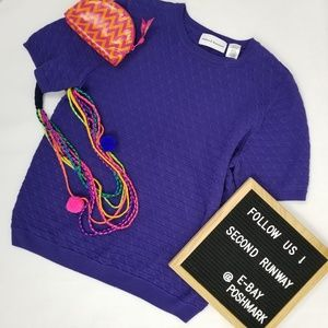 Alfred Dunner sweater size S